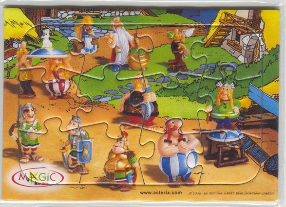 Astérix et la para BD Puzzlekinder2004